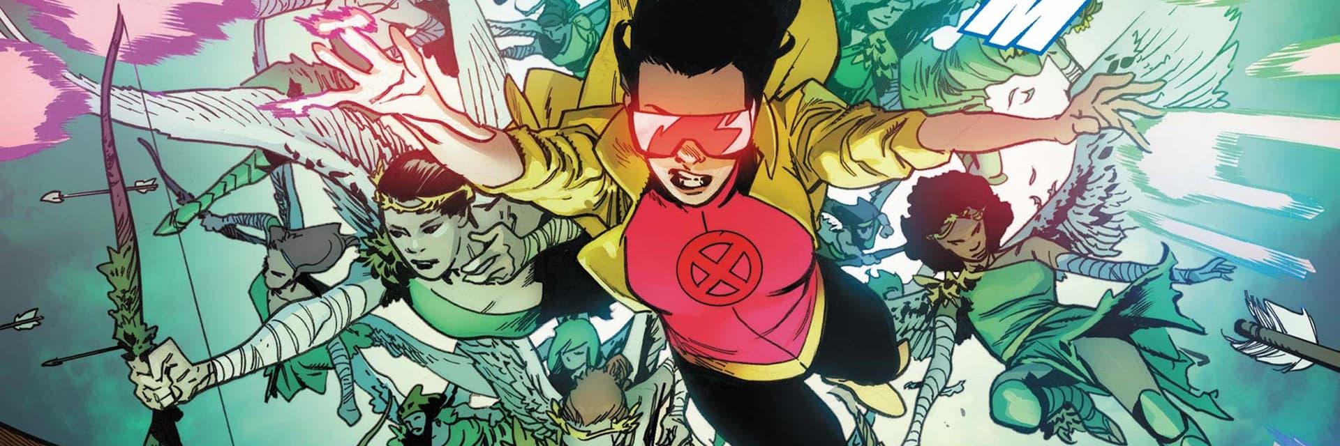 Jubileu (Jubilee). Imagem: Marvel Comics/Divulgação