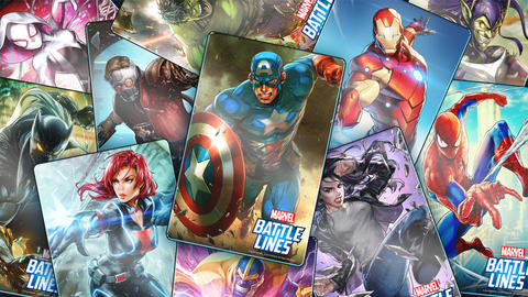 Image for Nexon and Marvel Reveal Strategic Card Battle Game MARVEL Battle Lines