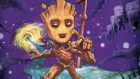 Image for I Am Groot: Going Solo