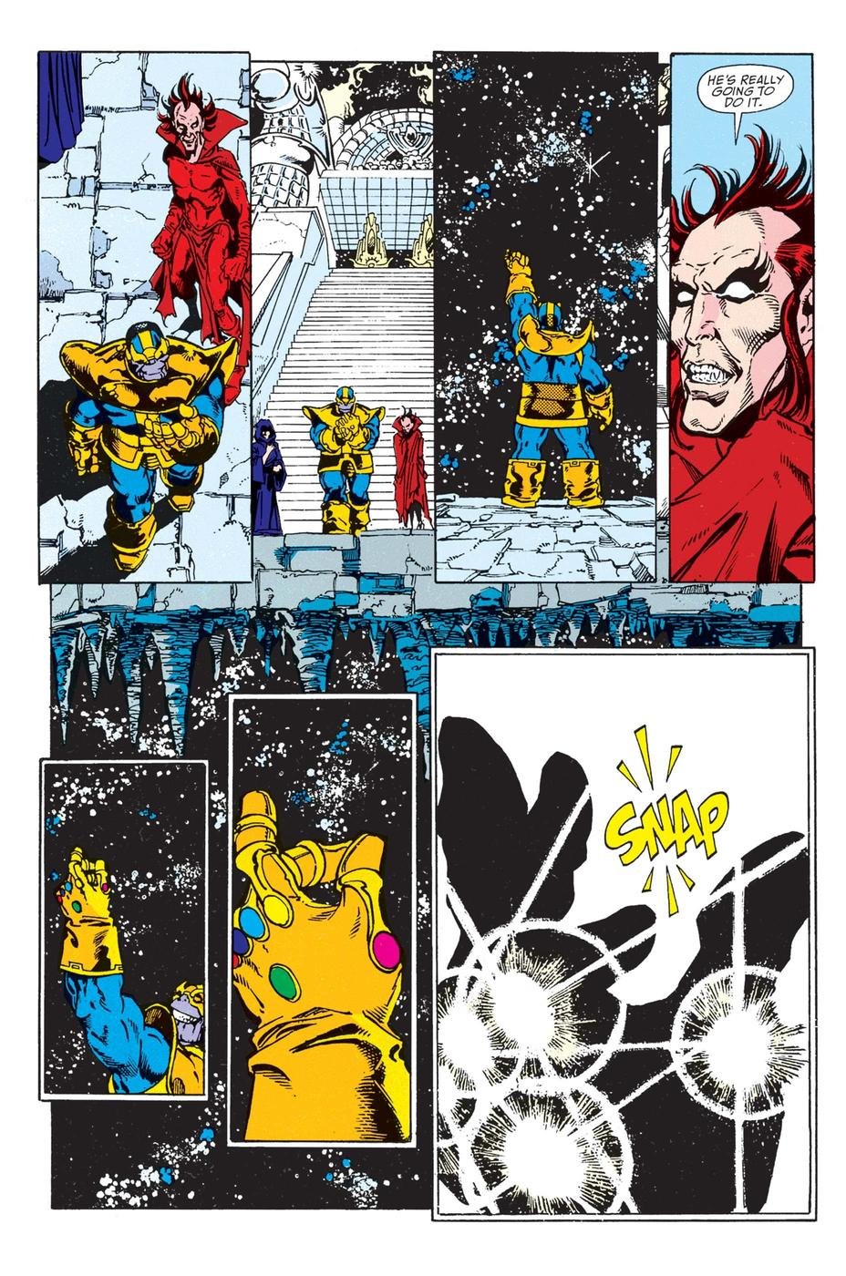 Today in Marvel History: The Thanos Snap | News | Marvel