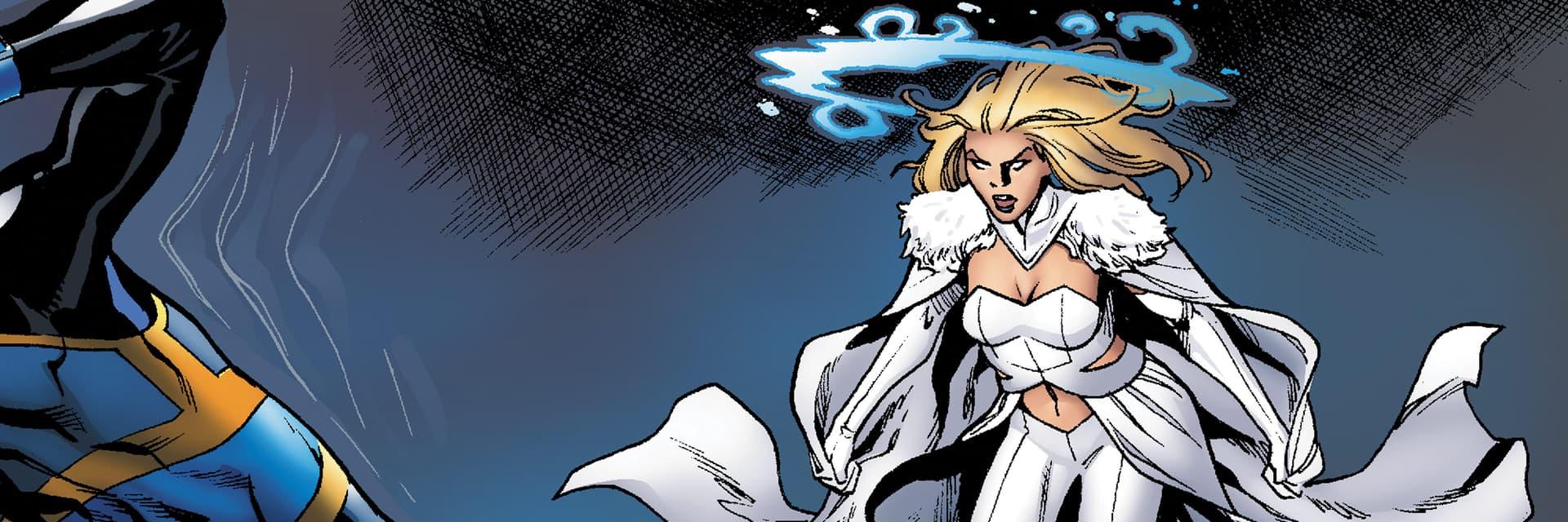 Emma Frost. Imagem: Marvel Comics/Divulgação