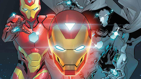 Image for Invincible Iron Man: Armor on Armor