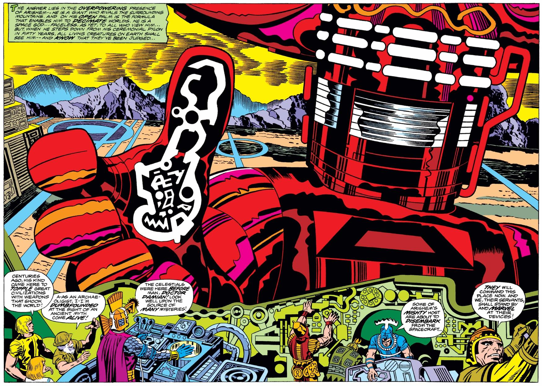 THE ETERNALS (1976) #3, PAGES 2-3
