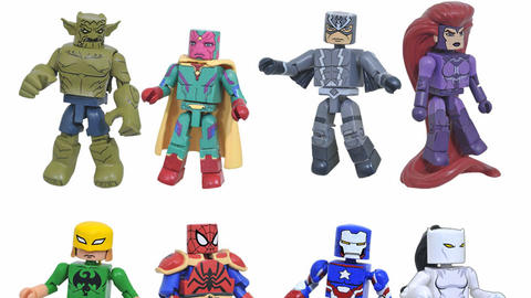 Image for Marvel Animated Minimates Series 6 Revealed