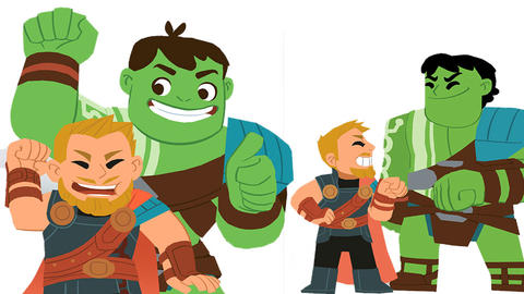 Image for Thor: Ragnarok Stickers Now Available on iOS