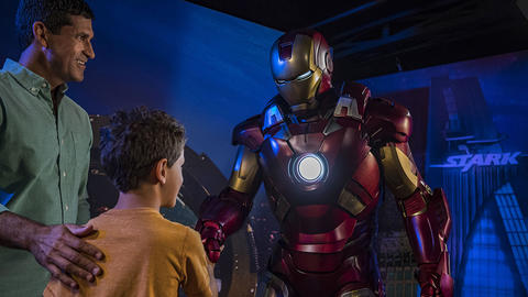 Image for Inside Look: First Official Appearance of Iron Man, Star-Lord, Gamora and Groot on a Disney Ship During Marvel Day at Sea