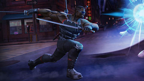 Image for Blade Brings Impressive Abilities to 'Marvel Contest of Champions'