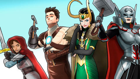 Image for New Outfits Bring Fantasy Feel to 'Marvel Avengers Academy'