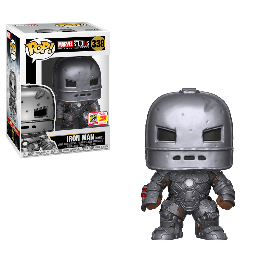 Pop! Marvel: Marvel Studios 10 - Iron Man Mark I