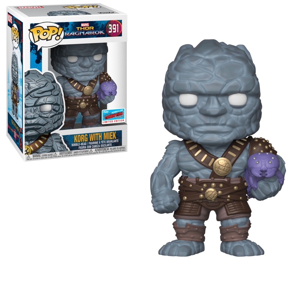Pop! Marvel: Thor Ragnarok - Korg & Miek (GameStop/ EB Games)