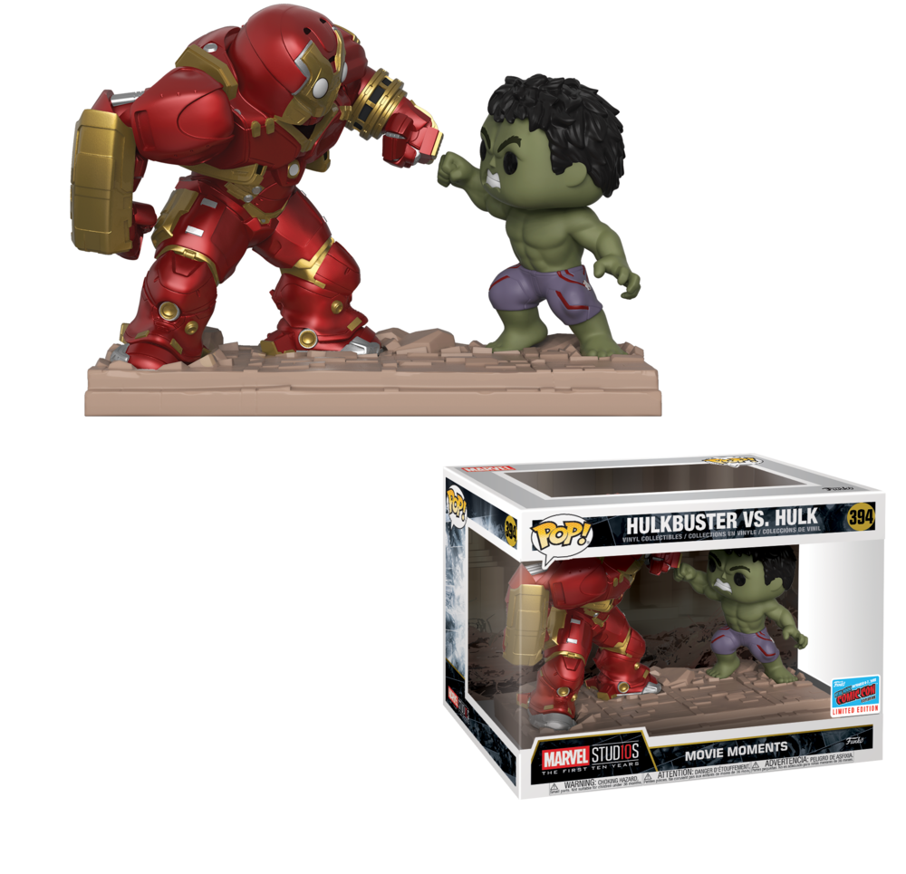 Movie Moment: Hulkbuster vs. Hulk (Walgreens)