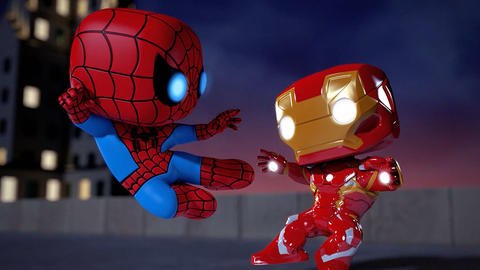 Image for Marvel and Funko Debut Animated Shorts with Marvel Funko Short