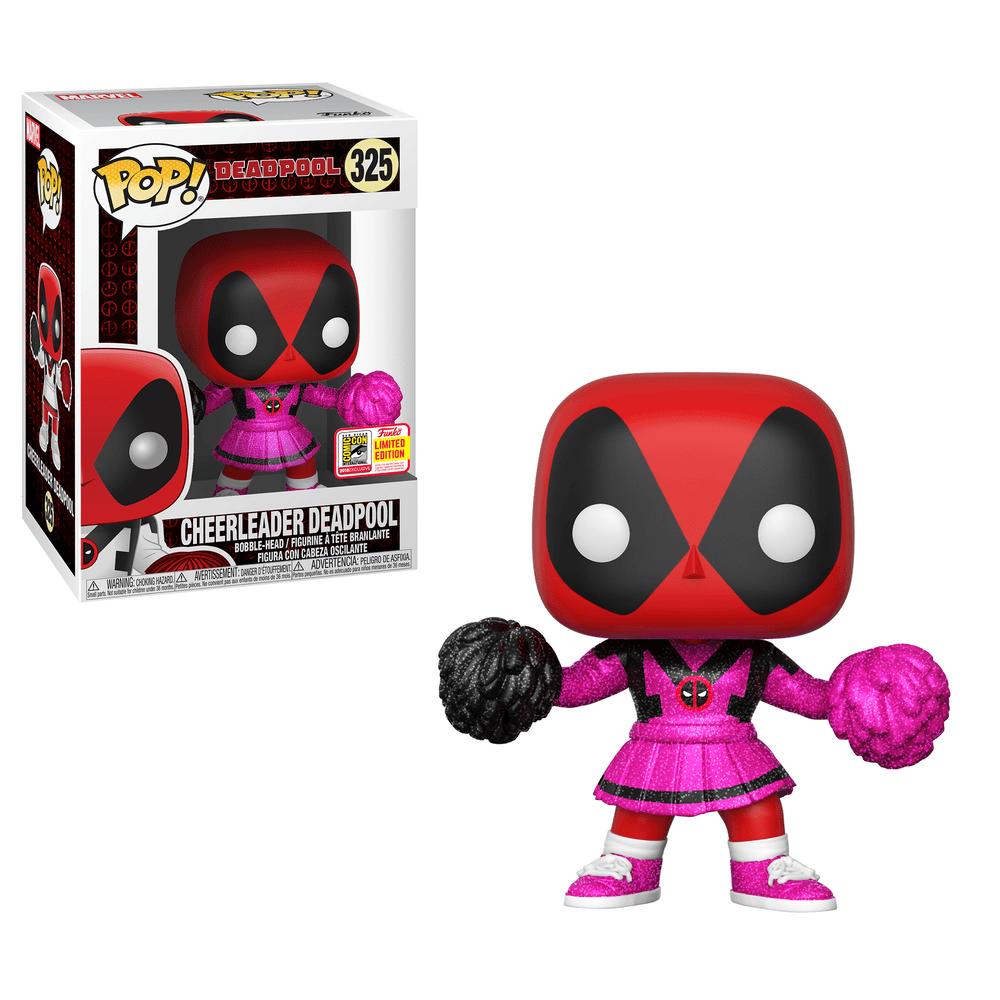 Pop! Marvel: Deadpool - Cheerleader Deadpool in Pink Glitter (1000pc LE)