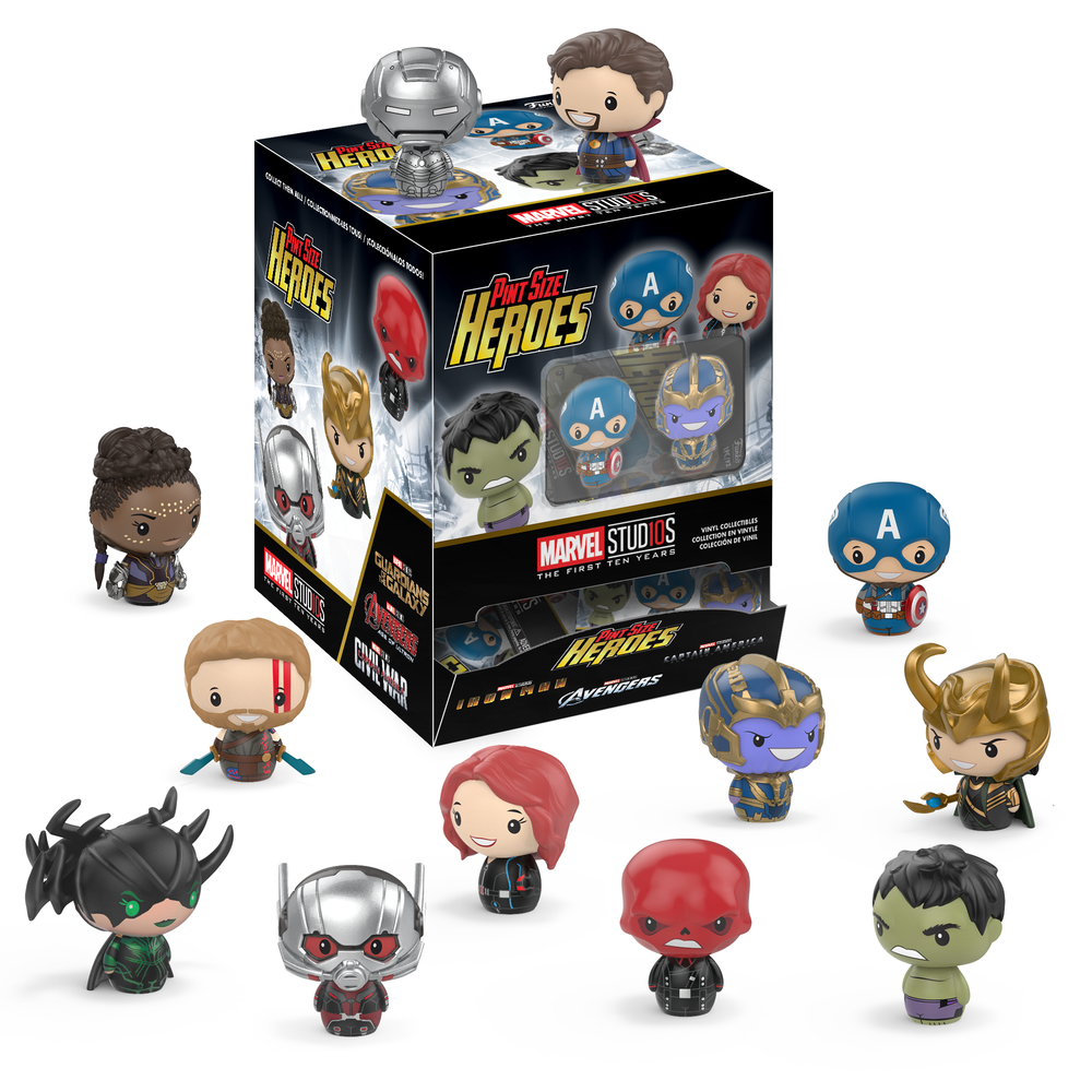 Funko's Marvel Studios 10 Pint Size Heroes