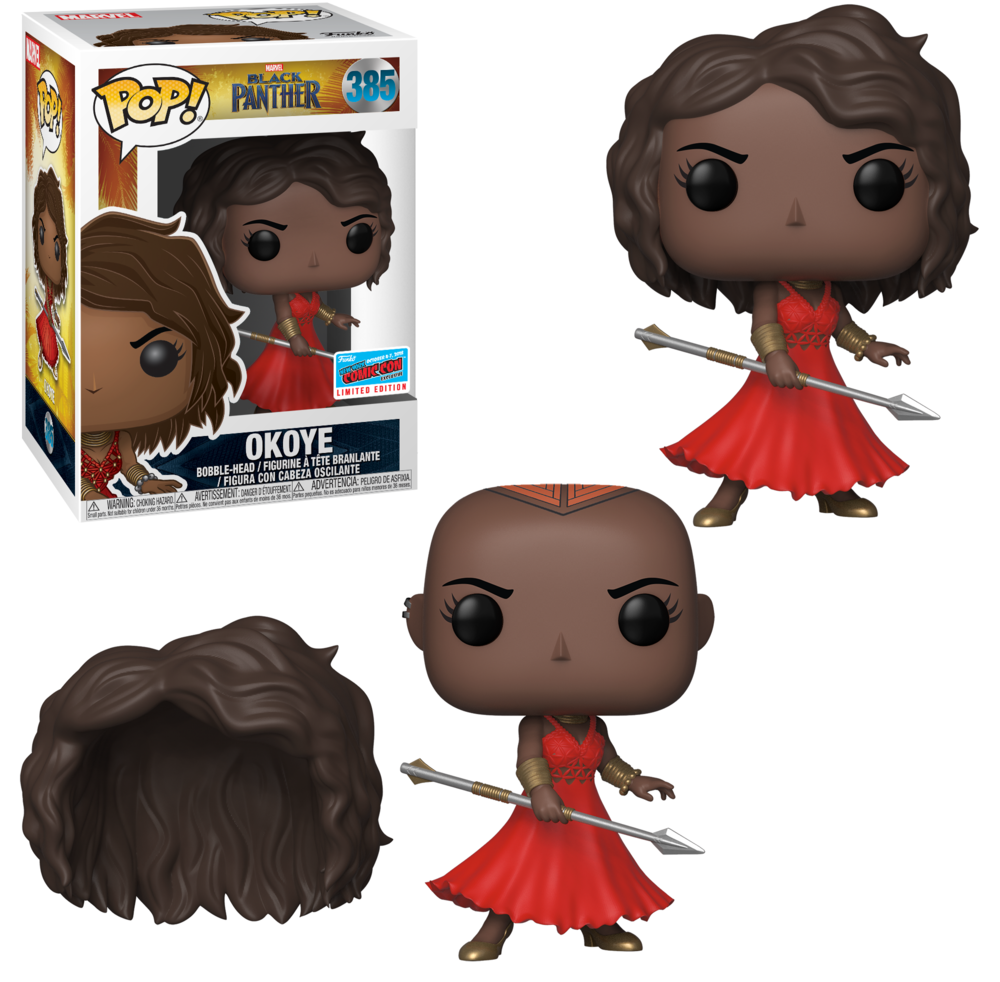Pop! Marvel: Black Panther - Okoye with Red Dress (Amazon)