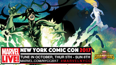 Image for Watch Marvel LIVE! from New York Comic Con 2017