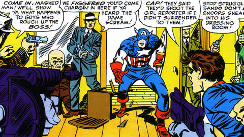 Image for Kirby 100: Bucky Barnes