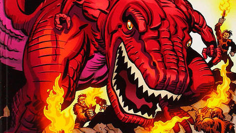 Image for Unleash the Beasts: Devil Dinosaur