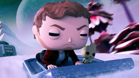 Image for Marvel and Funko Presents Second Season of Animated Shorts with Star-Lord and Baby Groot