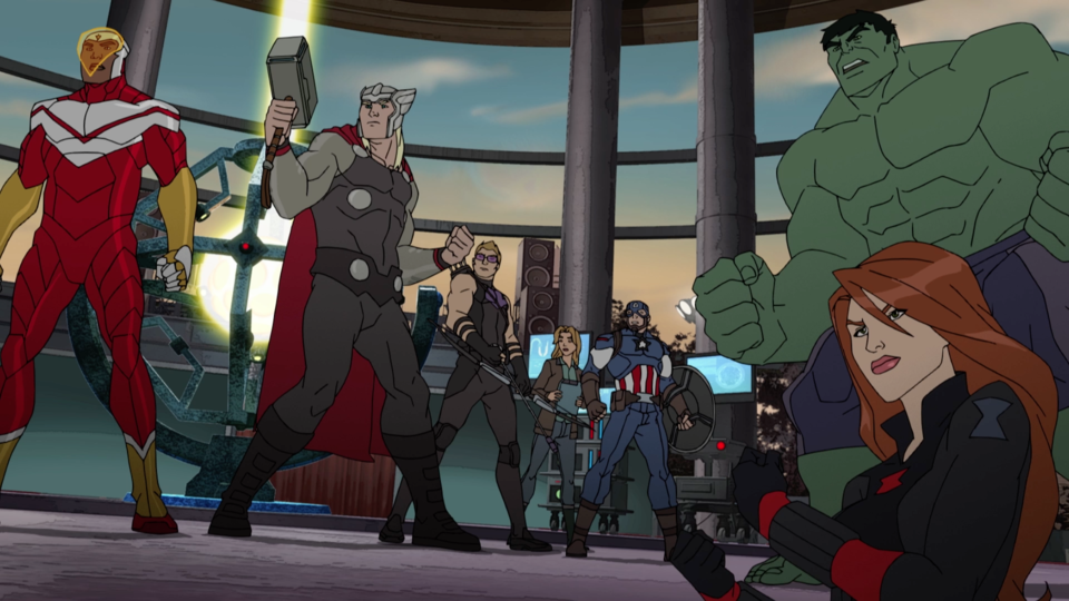 Image for The Avengers Must Reunite to Defeat the Kabal in Clip from Epic One-Hour 'Marvel's Avengers: Secret Wars' Season Four Premiere