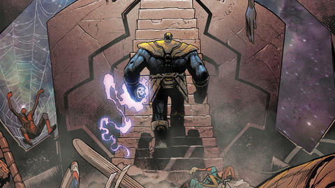 Image for Thanos: Titan Unleashed