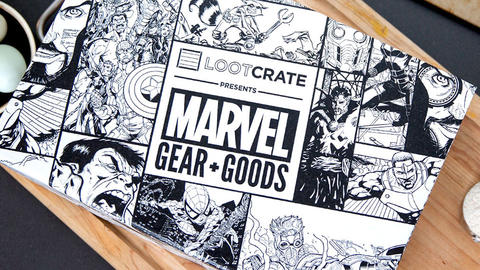 Image for Get Your First Look Inside The New Marvel Loot Crate