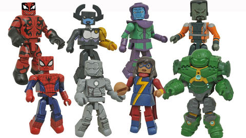Image for Marvel Animated Minimates Series 5 Revealed