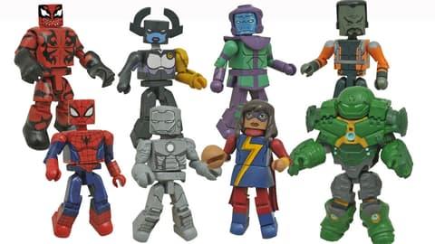 Image for Marvel Animated Minimates Series 5 Revealed