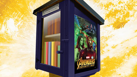 Image for Avengers: Infinity War-themed Library Stands Heading to Select Communities this May