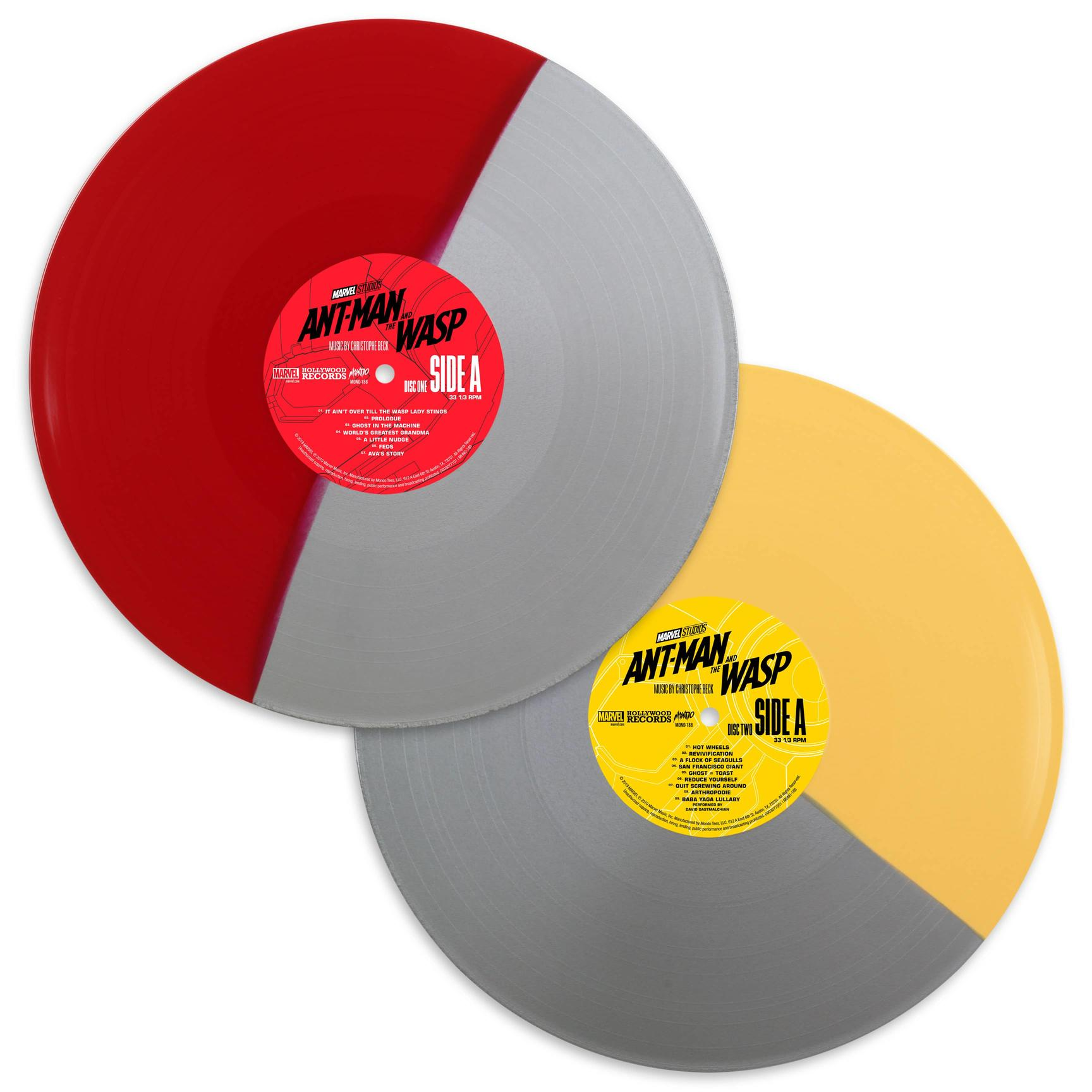 Ant-Man and the Wasp split discs