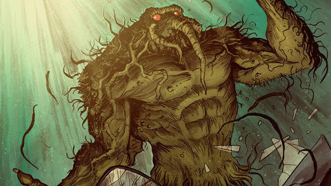 Image for R.L. Stine Makes His Man-Thing