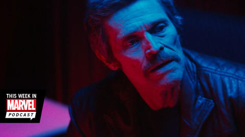 Image for Willem Dafoe Joins The Marvel Podcast