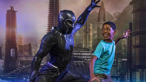 Image for Encounter Black Panther in 2018 at Disney California Adventure Park
