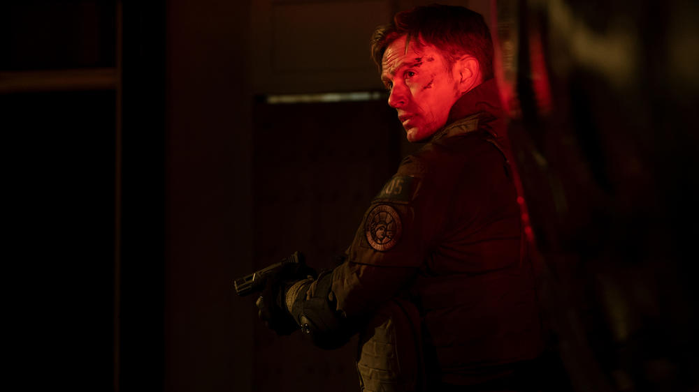 "Wilson Bethel as Benjamin ""Dex"" Poindexter in Marvel's Daredevil Season 3"
