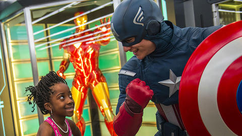 Image for More Family Fun Revealed for Marvel Day at Sea Cruises
