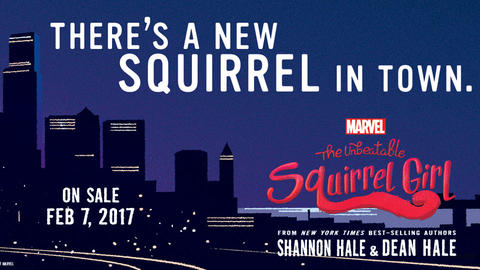 Image for Squirrel Girl fans Assemble!