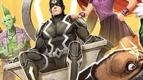 Image for The Inhumans Reveal Themselves in 'Marvel Avengers Academy'