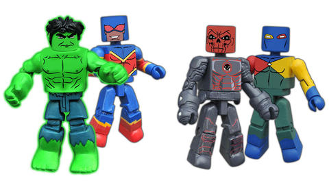 Image for Marvel Animated Minimates Series 4 Revealed