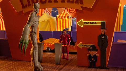 Image for Marvel Heroes Come in All Sizes in New Stop-Motion Short