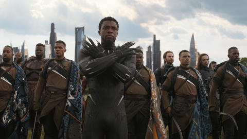Image for 'Avengers: Infinity War' Brings the Heroes To Wakanda