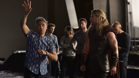 Image for Get Your First Look at Marvel Studios' 'Thor: Ragnarok' In A New Photo