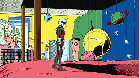 Image for 'Marvel's Ant-Man' Animated Shorts Are Big On Fun