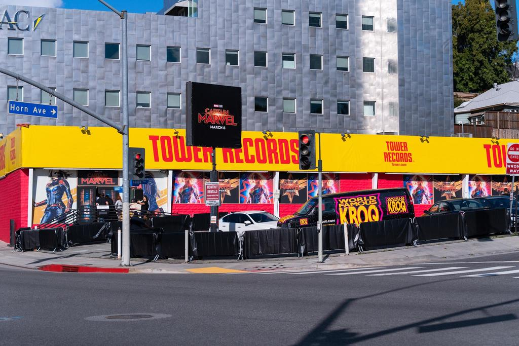 Captain Marvel - Tower Records