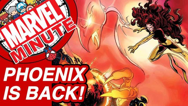 Phoenix is Back! – Marvel Minute 2017