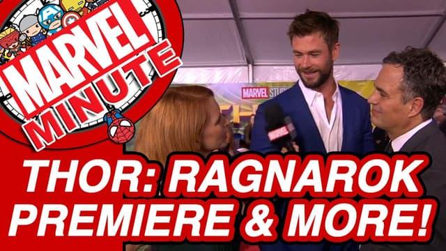 Marvel Studios' Thor: Ragnarok Premiere & More! - Marvel Minute