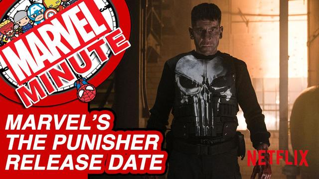 """Marvel's The Punisher"" Release Date & More - Marvel Minute 2017"