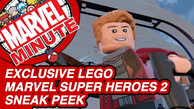 Exclusive LEGO Marvel Super Heroes 2 Sneak Peek - Marvel Minute 2017