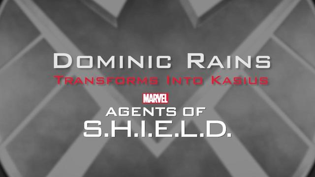 Dominic Rains transforms into Kasius -- Marvel's Agents of S.H.I.E.L.D.