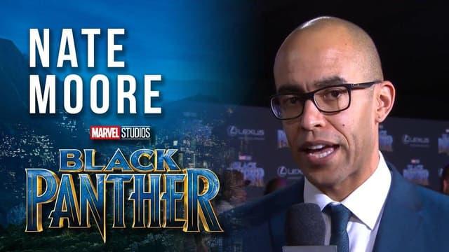 Producer Nate Moore at Marvel Studios' Black Panther World Premiere Red Carpet