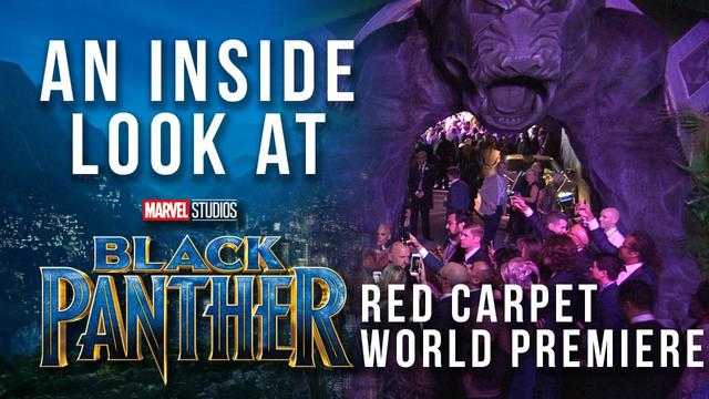 An Inside Look at Marvel Studios' Black Panther Red Carpet World Premiere